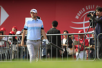 Bernd Wiesberger (AUT) on the 18th during the final round of the WGC HSBC Champions, Sheshan Golf Club, Shanghai, China. 03/11/2019.<br /> Picture Fran Caffrey / Golffile.ie<br /> <br /> All photo usage must carry mandatory copyright credit (© Golffile | Fran Caffrey)