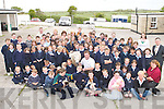 ANIMALS: On Tuesday Suzanne Gibbons from the Heather Hill Farm Sanctuary, Kilcummin, brought pet animals to St Josephs National School, Bouleenshere, Ballyheigue, to the surprise of the children, to raise funds for the Heather Hill Farm Sanctuary..