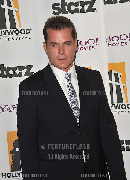 Ray Liotta at the 15th Annual Hollywood Film Awards Gala at the Beverly Hilton Hotel..October 24, 2011  Beverly Hills, CA.Picture: Paul Smith / Featureflash