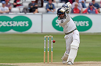Keshav Maharaj of Yorkshire in batting action during Essex CCC vs Yorkshire CCC, Specsavers County Championship Division 1 Cricket at The Cloudfm County Ground on 9th July 2019