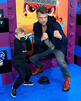 "LOS ANGELES - FEB 2:  Axl Jack Duhamel, Josh Duhamel at ""The Lego Movie 2: The Second Part"" Premiere at the Village Theater on February 2, 2019 in Westwood, CA"