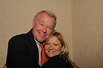 Jerry verDorn and Wendy Madore (Fan club president) at The One Life To Live Lucheon at the Hemsley Hotel in New York City, New York on October 9, 2010. (Photo by Sue Coflin/Max Photos)