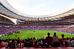 A view of Wanda Metropolitano Stadium during the La Liga match between Atletico Madrid and Eibar on May 20, 2018 in Madrid, Spain. Photo by Diego Souto / Power Sport Images