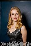 Tara Downes from Listowel taking part in the heats of Kerrys got Talent at Siamsa Tire on Sunday night.