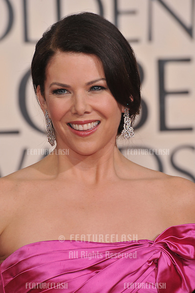 Lauren Graham at the 67th Golden Globe Awards at the Beverly Hilton Hotel..January 17, 2010  Beverly Hills, CA.Picture: Paul Smith / Featureflash