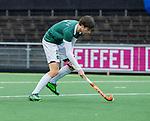 AMSTELVEEN -  Hidde Turkstra van R'dam    tijdens de hoofdklasse competitiewedstrijd heren, AMSTERDAM-ROTTERDAM (2-2). COPYRIGHT KOEN SUYK