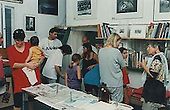 Photogram workshop at the Silver Print Gallery, Ein Hod for adults and children