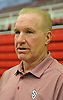 Chris Mullin, Head Coach of St. John's University men's basketball, fields questions during Media Day at Lou Carnesecca Arena in Jamaica, NY on Thursday, Oct. 27, 2016.