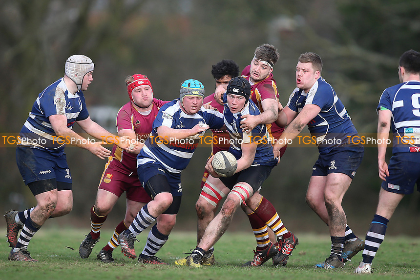 Hampstead RFC vs Harrow RFC (Blue), London 2 North West Division Rugby Union at Hampstead Heath Extension on 4th March 2017