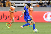 Houston, TX - Sunday Sept. 25, 2016: Keelin Winter during a regular season National Women's Soccer League (NWSL) match between the Houston Dash and the Seattle Reign FC at BBVA Compass Stadium.