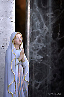 Virgin Mary;Pope Francis during a mass at the U.S. World War II cemetery in Nettuno, near Rome. on the day Christians around the world commemorate their dead, on November 2, 2017