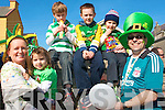 0062.-------.Parade: Enjoying the St Patrick's Day parade in Caherciveen on Tuesday were, l-to-r, Aine, Muirinn and Senan O Connell, Cian and Ronan O'Dowd, and Richard Jackson.