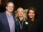 Douglas Aibel, Paula Marie Black and Sarah Stern attends the Vineyard Theatre's Annual Emerging Artists Luncheon at The National Arts Club on June 6, 2017 in New York City.