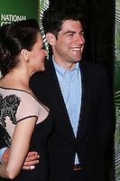 LOS ANGELES, CA, USA - AUGUST 25: Tess Sanchez, Max Greenfield at the FOX, 20th Century FOX Television, FX Networks And National Geographic Channel's 2014 Emmy Award Nominee Celebration held at Vibiana on August 25, 2014 in Los Angeles, California, United States. (Photo by David Acosta/Celebrity Monitor)