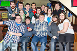 Chris Tearle, Sundays Well Tralee celebrates his 21st Birthday with friends at the Abbey Inn on Friday