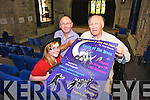 Preparing for two one act plays 'Costa from the Moon' and 'Cupid, an Arrow for all Seasons' in St John's Theatre from August 5th to 8th nightly are: Gillian Fitzgerald, Chris Fitzgerald and Tony Guerin.