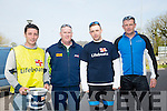 The  Crew of the Fenit Lifeboat, l-r  Cian O'Donnell, John Williams, Derry Sheehy and Lee Sugrue.at the Fenit Lifeboat charity fun cycle from O'Donnells, Mounthawk on Saturday