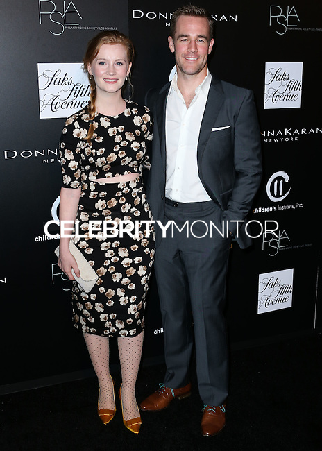 CULVER CITY, CA, USA - OCTOBER 08: James Van Der Beek, Kimberly Van Der Beek arrive at the 5th Annual PSLA Autumn Party benefiting Children's Institute, Inc. held at 3Labs on October 8, 2014 in Culver City, California, United States. (Photo by Xavier Collin/Celebrity Monitor)