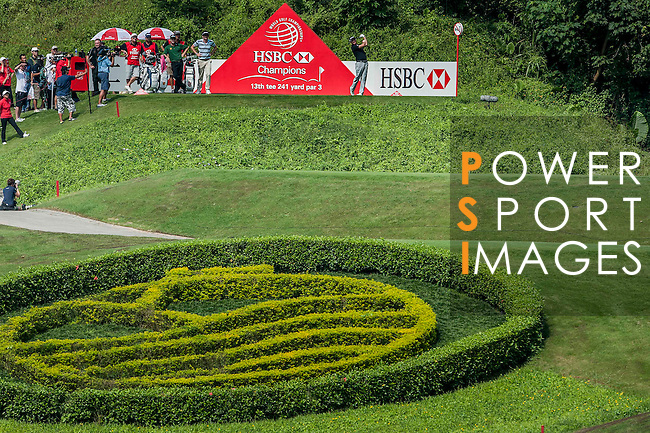 Players in action during the day two of the WGC HSBC Champions at the Mission Hills Resort on November 02, 2012, in Shenzhen China. Photo by Victor Fraile / The Power of Sport Images for Mission Hills