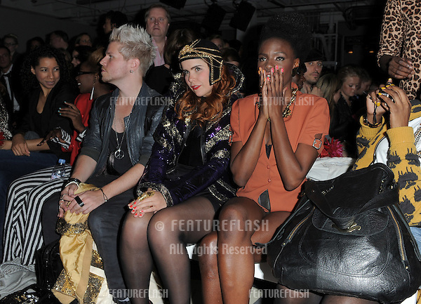 Shingai Shoniwa and Paloma Faith front row at The Ashley Isham Show at London Fashion Week. Victoria House Bloomsbury Square, London.  17/09/2010  Picture by: Simon Burchell / Featureflash.