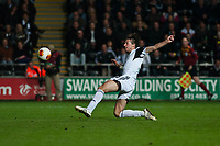 Thursday 24 October 2013  <br /> Pictured: Michu Scores for Swansea during the second half<br /> Re:UEFA Europa League, Swansea City FC vs Kuban Krasnodar,  at the Liberty Staduim Swansea