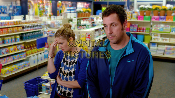 Drew Barrymore, Adam Sandler<br /> in Blended (2014) <br /> *Filmstill - Editorial Use Only*<br /> CAP/NFS<br /> Image supplied by Capital Pictures