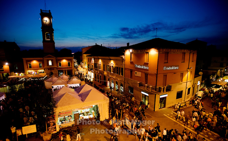 Forlimpopoli, a small city nestled in the middle of the Emilia Romagna region of Italy, is host to a food festival called Festa Artusania each year to celebrate food from throughout the region...PHOTOS/ MATT NAGER