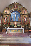 USA, CA, Carmel, Carmel Mission Altar