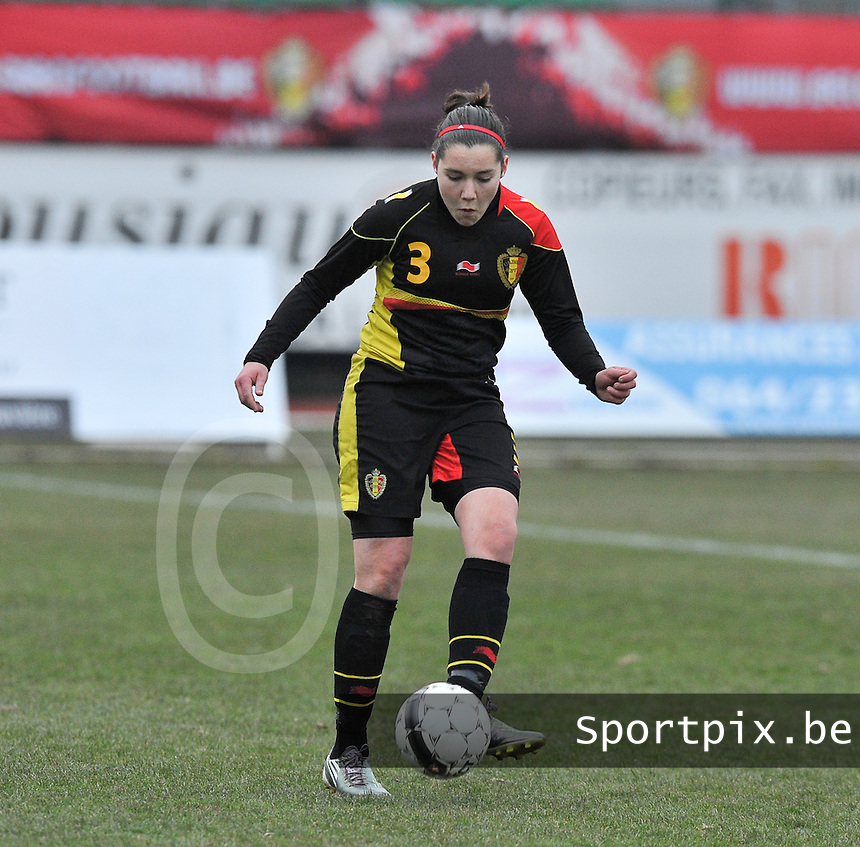 France U19 - Belgium U19 : Elien Van Wynendaele.foto DAVID CATRY / Nikonpro.be