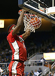 UNLV's Goodluck Okonoboh (11) dunks during a college basketball game against Nevada in Reno, Nev., on Tuesday, Jan. 27, 2015. The Rebels won 67-62. (Las Vegas Review-Journal/Cathleen Allison)
