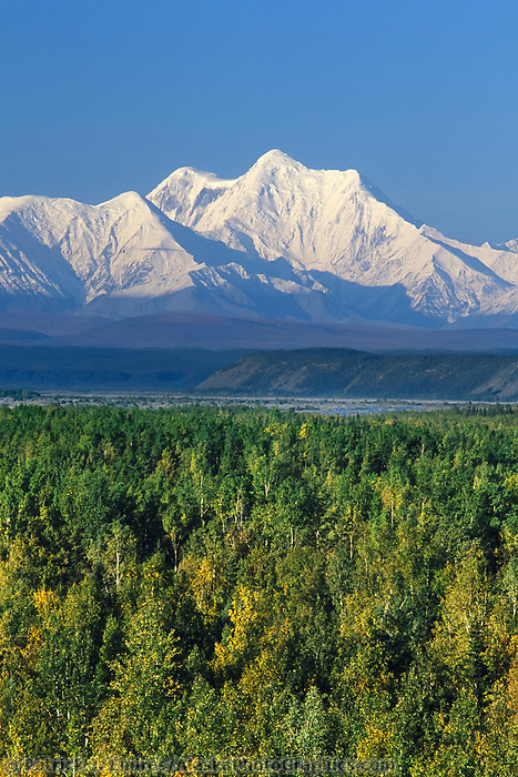 Mount Hayes of the Alaska Range, Interior Alaska