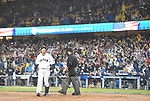 Nobuhiro Matsuda (JPN),<br /> MARCH 21, 2017 - WBC<br /> Nobuhiro Matsuda of Japan reacts as he walks back to the dugout after striking out swinging to end the 2017 World Baseball Classic Semifinal game against the United States at Dodger Stadium in Los Angeles, California, United States. (Photo by AFLO)
