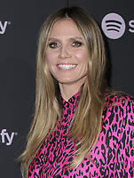 "07 February 2019 - Westwood, California - Heidi Klum. Spotify ""Best New Artist 2019"" Event held at Hammer Museum. Photo Credit: PMA/AdMedia"