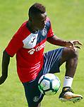 Getafe's Amath Ndiaye during training session. September 12,2017.(ALTERPHOTOS/Acero)