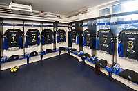 A general view of the Bath Rugby changing rooms prior to the match. European Rugby Challenge Cup Quarter Final, between Bath Rugby and CA Brive on April 1, 2017 at the Recreation Ground in Bath, England. Photo by: Patrick Khachfe / Onside Images