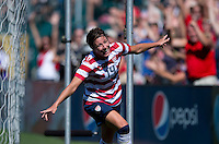 Abby Wambach.  The USWNT defeated Costa Rica, 8-0, during a friendly match at Sahlen's Stadium in Rochester, NY.