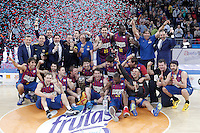 FC BARCELONA REGAL v VALENCIA BASKET CLUB.SPANISH BASKETBALL KING'S CUP 2013.FINAL