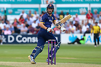 Paul Walter hits four runs for Essex during Essex Eagles vs Somerset, NatWest T20 Blast Cricket at The Cloudfm County Ground on 13th July 2017