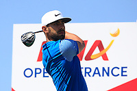 Erik Van Rooyen (RSA) on the 3rd tee during Round 1 of the HNA Open De France at Le Golf National in Saint-Quentin-En-Yvelines, Paris, France on Thursday 28th June 2018.<br /> Picture:  Thos Caffrey | Golffile