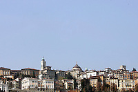 Una veduta della Citta' Alta, a Bergamo.<br /> A view of the upper town of Bergamo.<br /> UPDATE IMAGES PRESS/Riccardo De Luca