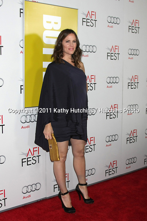 """LOS ANGELES - NOV 6:  Jennifer Garner arrives at the """"Butter"""" Screening at the AFI Fest 2011 at Grauman's Chinese Theater on November 6, 2011 in Los Angeles, CA"""