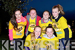 Morning has broken at the Darkness into Light 5km in aid of Pieta House in Killarney on Saturday morning for these Listowel ladies front l-r: Eliza Kennelly, Maeve Gallagher, back: Rachel Costello, Elise Sheehy, Clodagh Buckley and Jayne Houlihan