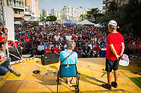 Salvatore Borsellino &amp; Marilena Monti - Singer, Songwriter and Author - recites &quot;Giudice Paolo&quot; (&quot;Judge Paolo&quot;).<br />