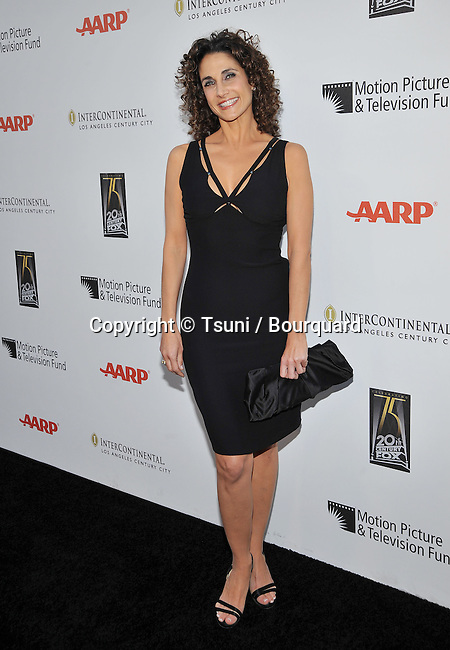 Melina Kanakaredes _17   -<br /> A Fine Romance - 2010 To benefit the Motion Picture &amp; Television Fund on the Fox Lot in Los Angeles.