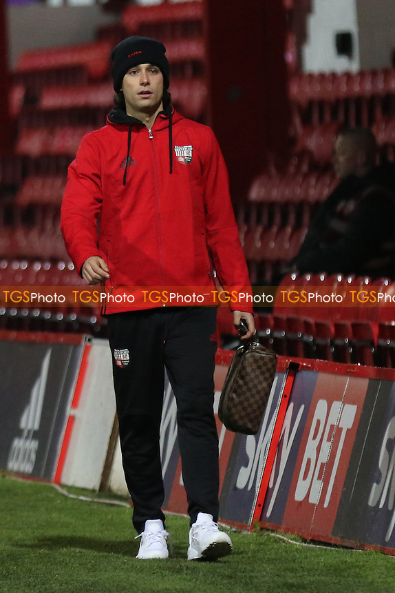Jota of Brentford arrives at the ground pre-match during Brentford vs Aston Villa, Sky Bet EFL Championship Football at Griffin Park on 31st January 2017