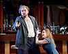 Rigoletto <br /> by Verdi <br /> English National Opera at the London Coliseum, London, Great Britain <br /> rehearsal <br /> 31st January 2017 <br /> <br /> <br /> <br /> Nicholas Pallesan as Rigoletto <br /> <br /> Sydney Mancasola as Gilda <br /> <br /> <br /> <br /> Photograph by Elliott Franks <br /> Image licensed to Elliott Franks Photography Services