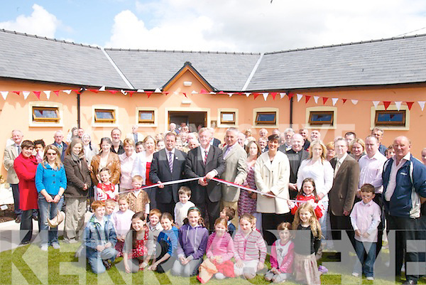 5869- 5873.OFFICIAL: John O'Donoghue, Minister for Arts, Sport & Tourism offically opened the newly built St Pats Blennerville GAA Club on Sunday.. .