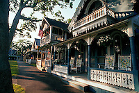 Houses in Oak Bluffs. Martha's Vineyard, Massachusetts.