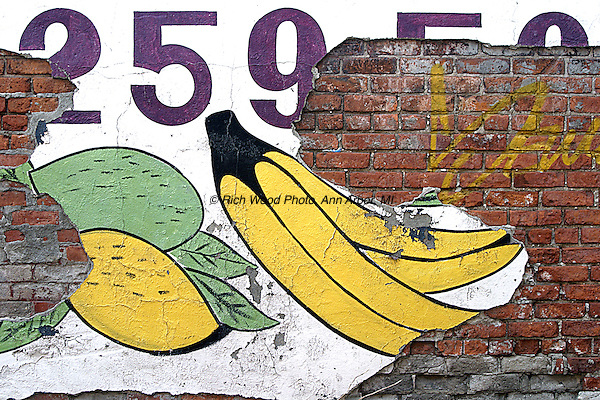 Banana poster peeling | richard wood