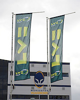 20130317 Copyright onEdition 2013©.Free for editorial use image, please credit: onEdition..LV= corporate branding outside the Sixways Stadium during the LV= Cup Final between Harlequins and Sale Sharks at Sixways Stadium on Sunday 17th March 2013 (Photo by Rob Munro)..For press contacts contact: Sam Feasey at brandRapport on M: +44 (0)7717 757114 E: SFeasey@brand-rapport.com..If you require a higher resolution image or you have any other onEdition photographic enquiries, please contact onEdition on 0845 900 2 900 or email info@onEdition.com.This image is copyright onEdition 2013©..This image has been supplied by onEdition and must be credited onEdition. The author is asserting his full Moral rights in relation to the publication of this image. Rights for onward transmission of any image or file is not granted or implied. Changing or deleting Copyright information is illegal as specified in the Copyright, Design and Patents Act 1988. If you are in any way unsure of your right to publish this image please contact onEdition on 0845 900 2 900 or email info@onEdition.com